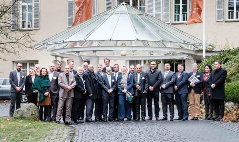 الاتحاد الفلسطيني للهيئات المحلية يزور اتحاد المدن الألماني