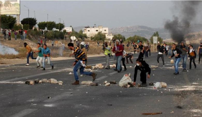 إصابات خلال مواجهات مع الاحتلال في مدينة رام الله
