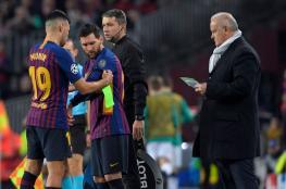 برشلونة يبيع مهاجمه منير الحدادي إلى إشبيلية بمبلغ زهيد