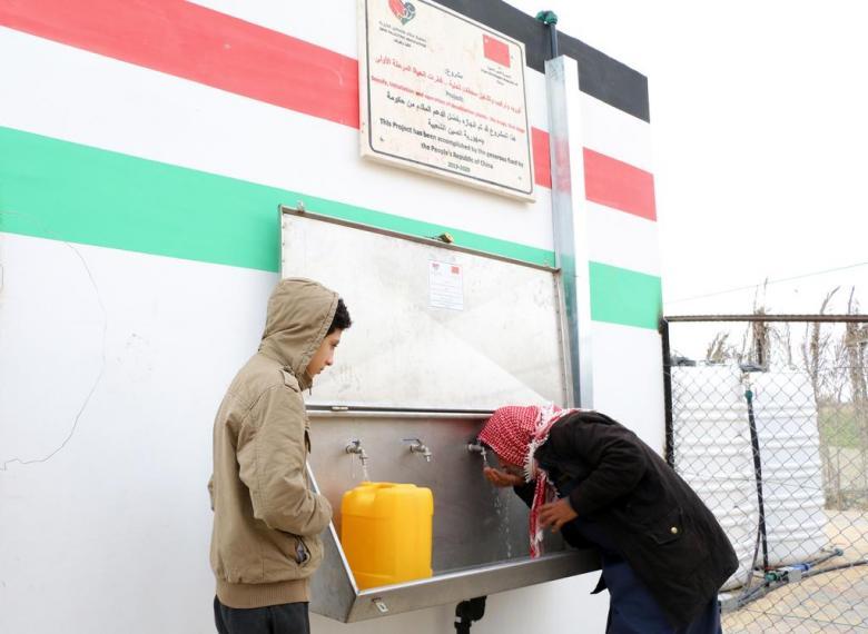 عطاء فلسطين تُسلم مشروع تحلية مياه لبلدية النصر جنوب القطاع