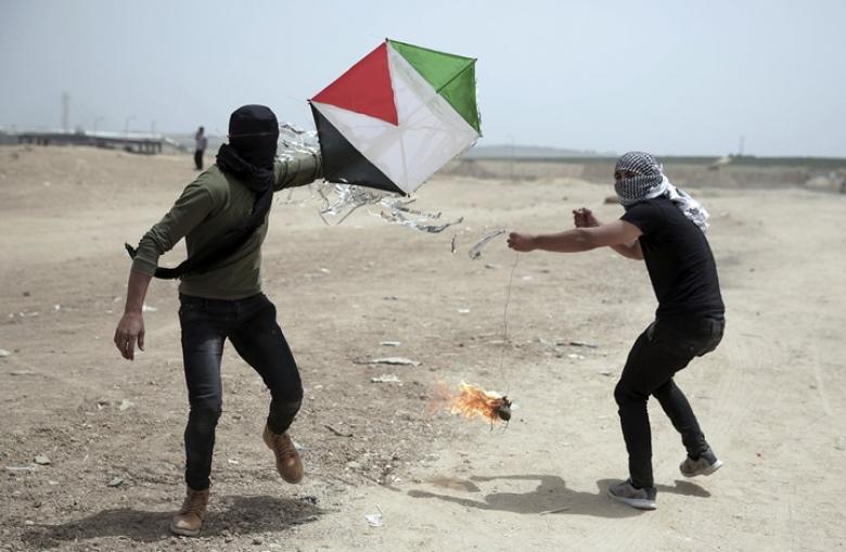 الاحتلال ينشر منظومة جديدة لاعتراض الطائرات الورقية في غزة