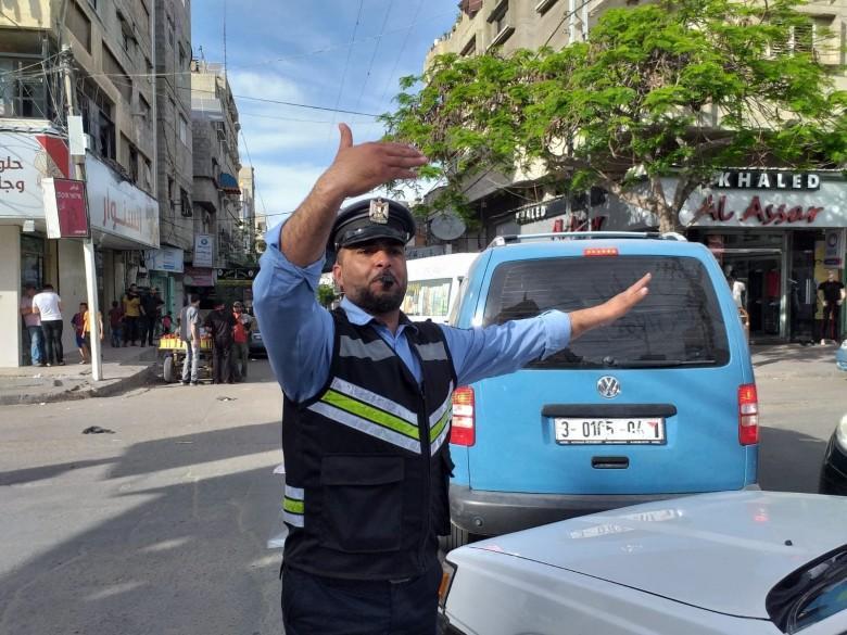 حالة الطرق والحوادث في قطاع غزة صباح اليوم