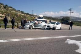 مصرع شخص وإصابة 4 بحادث سير قرب مستوطنة بالخليل