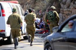 إصابة جندي إسرائيلي بعملية دهس في أبو ديس