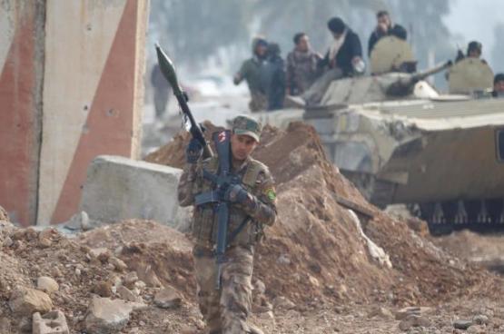 العراق يعلن استعادة شرقي الموصل بالكامل