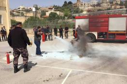 الدفاع المدني يتعامل مع 316 حادث إطفاء وإنقاذ خلال أسبوع