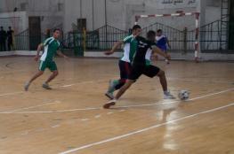 """اتحاد الرياضة العسكرية يختتم بطولة """"الأقصى"""" لكرة القدم الخماسية"""