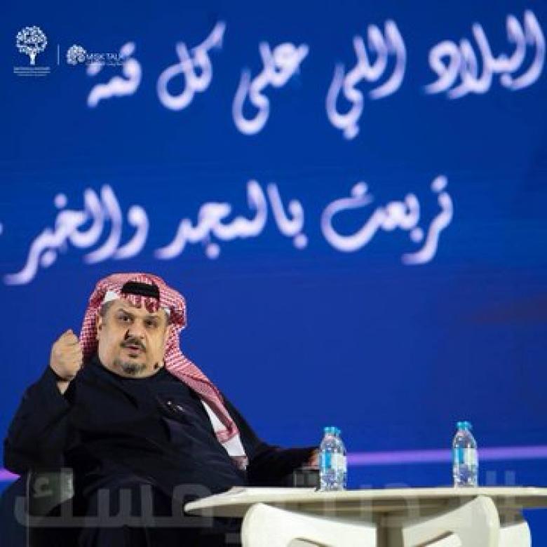 """مدير مكتب """"ابن سلمان"""" ينشر ما قاله عبد الرحمن بن مساعد"""