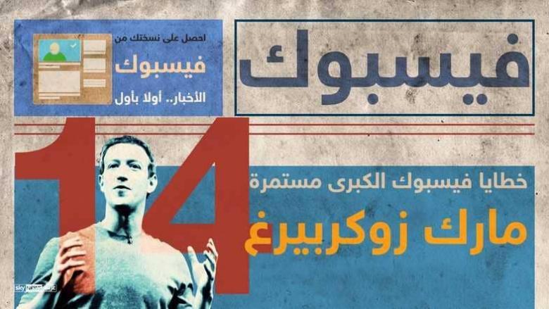 خطايا واعتذارات فيسبوك وزوكربيرغ