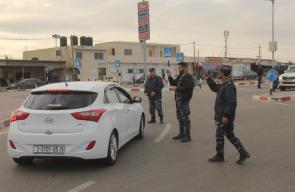 أجهزة وزارة الداخلية تنظم حركة المسافرين عبر معبر رفح البري