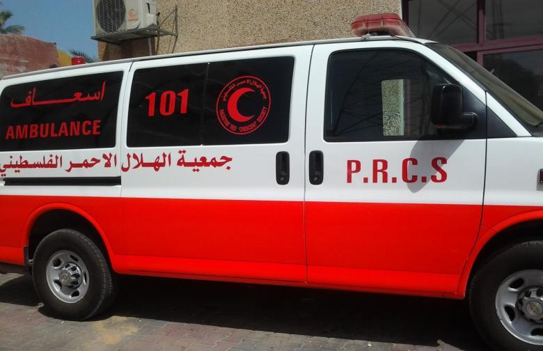 إصابات بينها خطيرة بحادث سير في رام الله