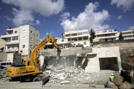 الاحتلال يهدم منزلا في بيت حنينا شمال القدس المحتلة