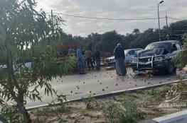 إصابات في حادث سير بين عدة مركبات في المنطقة الوسطى