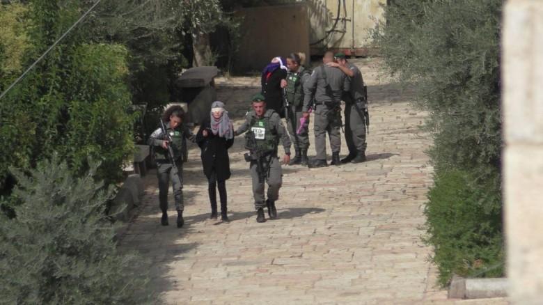 الاحتلال يعتقل طفلة قرب الحرم الإبراهيمي بالخليل