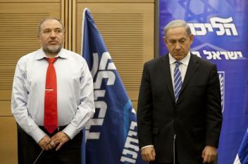 عندما كاد ليبرمان أن يقف حدادًا على شهداء غزة!