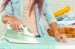 نصائح لاختصار وقت كيّ الملابس