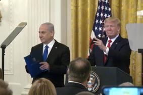 """ترامب يكشف بنود خطة """"صفقة القرن"""" لتصفية القضية الفلسطينية"""
