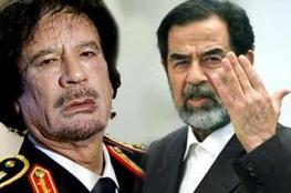 هل حاول القذافي تهريب صدام حسين من السجن؟