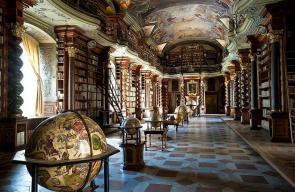 صور: مكتبة كليمينتينوم القديمة بالتشيك