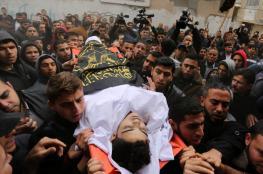 تشييع جثمان الشهيد محمد الدحدوح بغزة