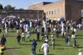 سيارة تدهس مسلمين محتفلين بعيد الفطر في بريطانيا