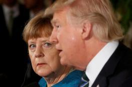 ميركل تتوقع قمة صعبة مع ترامب في هامبورغ