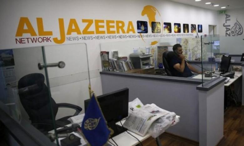 """""""إسرائيل"""" تعلن وقف بث شبكة الجزيرة خلال أسبوعين"""