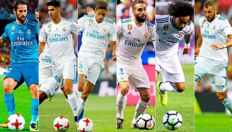 ريال مدريد يستعد لإعلان تمديد عقود 5 لاعبين