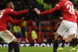 مانشستر يونايتد يلتهم ترانمير بسداسية في كأس الاتحاد