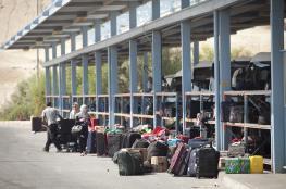 """58 ألف مسافر تنقلوا عبر معبر """"الكرامة"""" خلال أسبوع"""