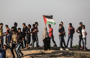 مشاركة الجماهير الفلسطينية في جمعة #لاجئي_لبنان في مسيرات العودة