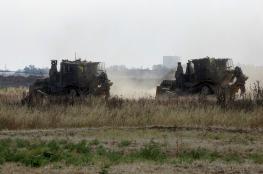 توغل 4 آليات إسرائيلية بشكل محدود شرق غزة