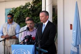 ميلادينوف يجري لقاءات لحل أزمة الكهرباء بغزة