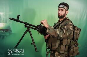 القسام ينعي المجاهد محمود أبو كميل من النصيرات
