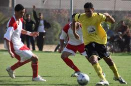 13 لاعبًا يغيبون عن الجولة الـ19 في دوري غزة