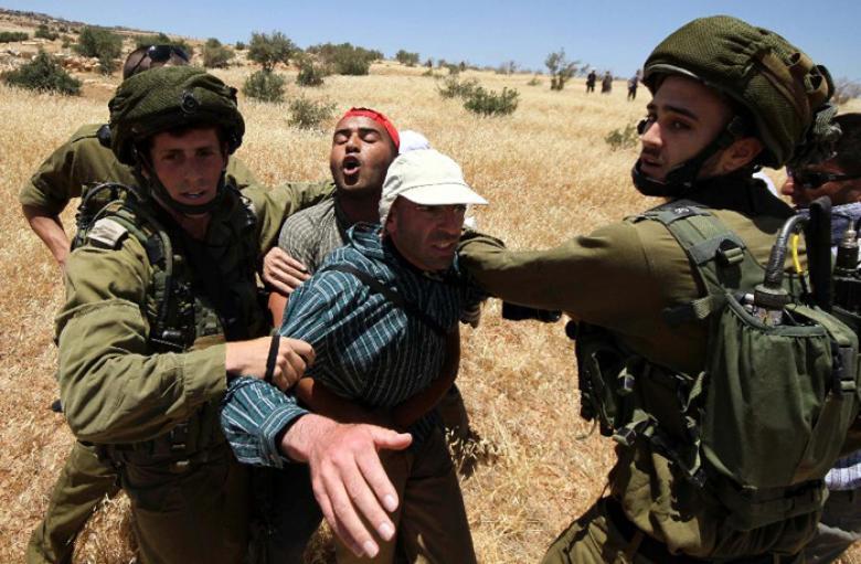 الاحتلال يعتدي على 3 مواطنين في مسافر يطا