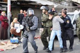 """الاحتلال يعتقل 4 مواطنين خلال مواجهات قرب """"عوفر"""""""