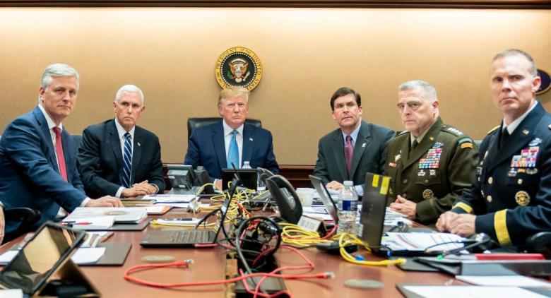"""وزير الدفاع الأمريكي: ترامب ما زال منفتحا لمحادثة إيران حول """"طريق جديد للأمام"""""""