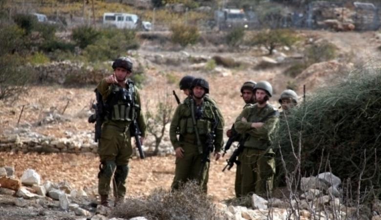 الاحتلال ينهب قرابة 4 دونمات جنوب نابلس