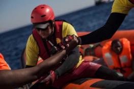 إنقاذ امرأة ولدت في عرض البحر مع مئات المهاجرين