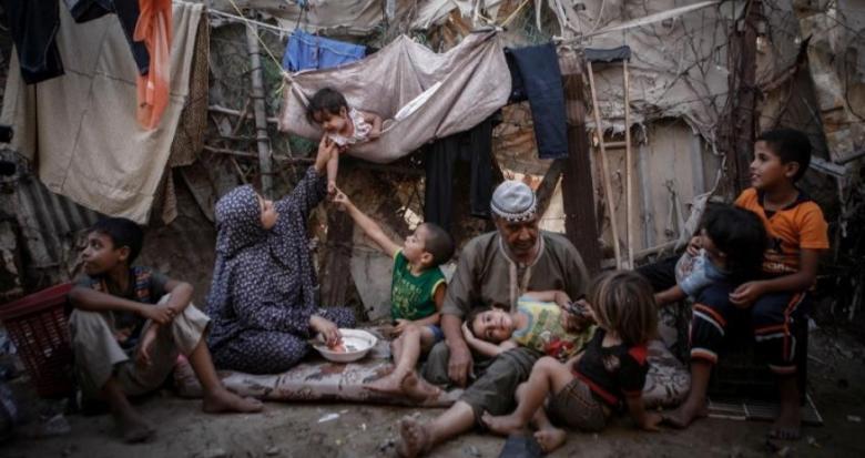 """""""المنظمات الأهلية"""": 68% من أهالي غزة يعانون انعدام الأمن الغذائي"""