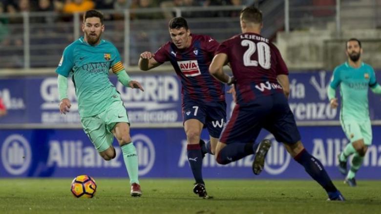 ميسي يحفظ كبرياء برشلونة أمام إيبار في ختام الليجا