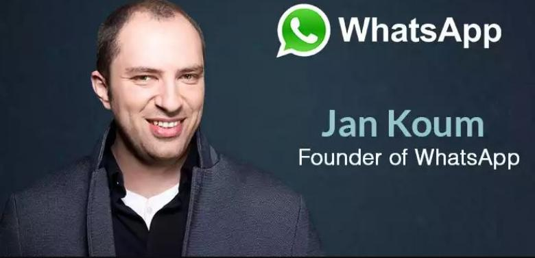 Image result for مؤسس واتس آب يستقيل من فيس بوك