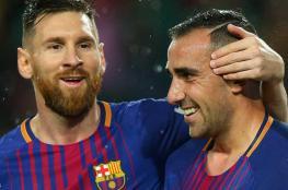 ألكاسير يتألق ويمنح برشلونة الفوز على إشبيلية