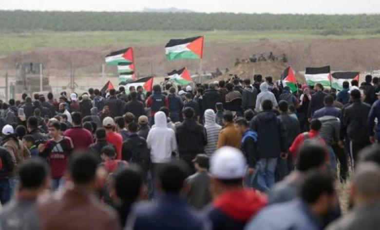هيئة مسيرات العودة توجه رسالة للاحتلال وتعلن شعار الجمعة القادمة