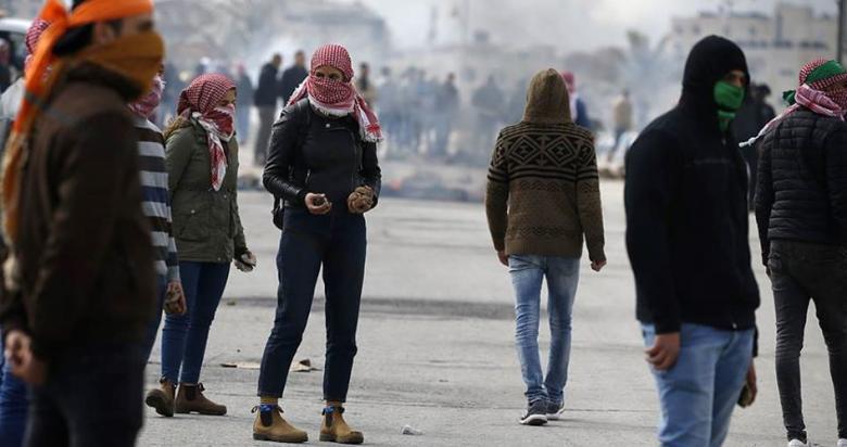 مواجهات مع قوات الاحتلال في قلقيلية