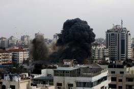 """الاحتلالُ يدمّر مبنى لـ """"الأمن الداخلي"""" بغزة بالكامل"""