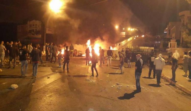 مواجهات عنيفة خلال اقتحام قوات الاحتلال لمدينة نابلس