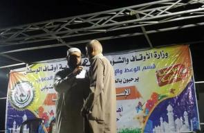 تواصل الملتقيات الدعوية في قطاع غزة