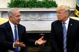"""ترامب: حان الوقت للاعتراف بسيادة """"إسرائيل"""" على الجولان"""
